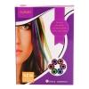 Creta pentru colorat temporar parul  , roz, albastru, mov, verde,portocaliu,rosu,