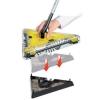 Matura Electrica Rotativa fara fir, cu acumulator,Swivel Sweeper ,fara fir ,cu rotatie 360 grade galben/negru
