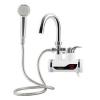 Robinet Electric de perete pentru Incalzit Apa cu Dus,, Afisaj Temperatura LCD, Putere 3KW, Apa Calda Instant, Debit 2L/min, Montaj pe Perete