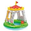 Piscina multicolora cu acoperis de soare pentru copii , de exterior, cu un accesoriu gonflabil in forma de floare, ATS + 2 ani