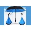 Umbrela reversibila cu maner in forma C si spite din fibre elastice
