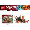 Joc Lego 4in1 Ninja Fusion de la BOZHI-69 de piese- Modele diferite