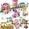 Joc Lego Dream Town 192 piese-Diferite modele